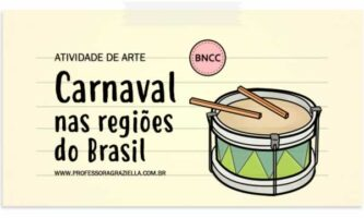 ARTE - carnaval nas regioes do brasil
