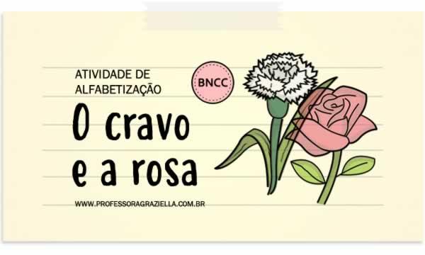 ALFABETIZACAO - cravo e a rosa