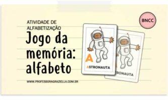 ALFABETIZACAO - jogo - memoria do alfabeto