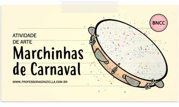 ARTE - marchinhas de carnaval