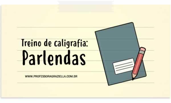 CALIGRAFIA - parlendas