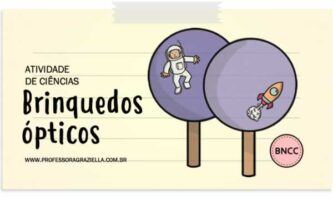 CIENCIAS - brinquedos opticos