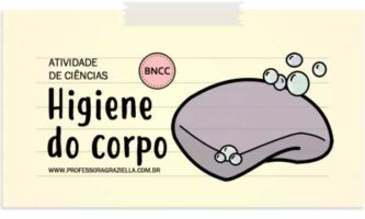 CIENCIAS - higiene do corpo