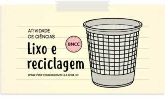 CIENCIAS - lixo e reciclagem