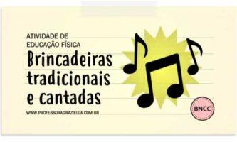 EDFISICA - brincadeiras musicais e cantadas