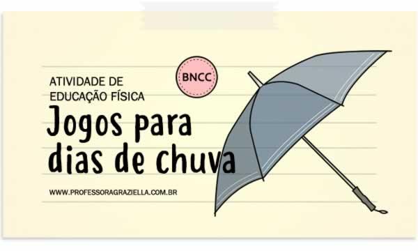 EDFISICA - jogos para dias de chuva