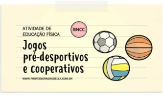EDFISICA - jogos pre-desportivos e cooperativos