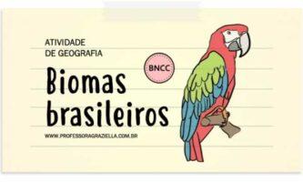 GEOGRAFIA - biomas brasileiros