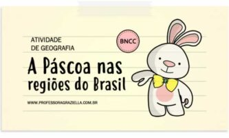 GEOGRAFIA - pascoa nas regioes do brasil