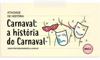 HISTORIA - carnaval.historia do carnaval