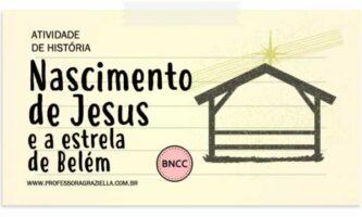 HISTORIA - nascimento de jesus