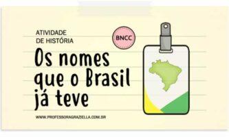 HISTORIA - nomes do brasil