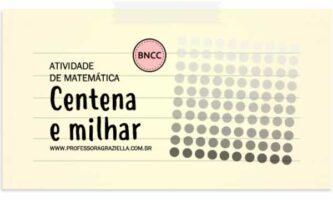 MATEMATICA - centena e milhar
