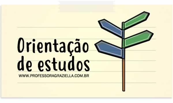 ORIENTACAO - orientacao de estudos