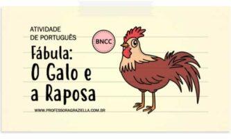 PORTUGUES - fabula-galo e a raposa