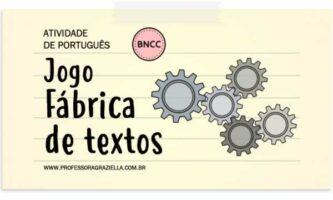 PORTUGUES - jogo - fabrica de textos
