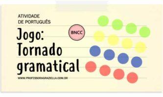PORTUGUES - jogo - tornado gramatical