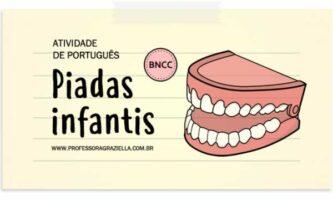 PORTUGUES - piadas infantis