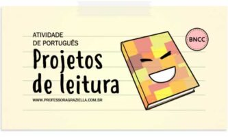 PORTUGUES - projetos de leitura