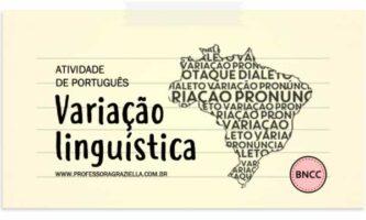 PORTUGUES - variacao linguistica