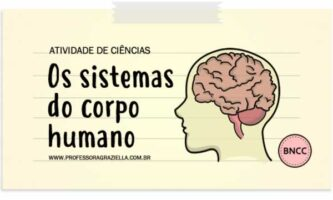 CIENCIAS - sistemas do corpo humano